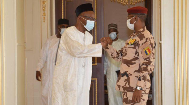 #Tchad : Saleh Kebzabo reçu par le président du CMT